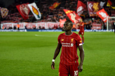 Sadio Mane has overtaken Mo Salah at Liverpool according to Danny Murphy.