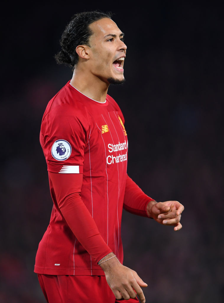 Virgil van Dijk is in the confirmed Liverpool lineup to face Bournemouth.