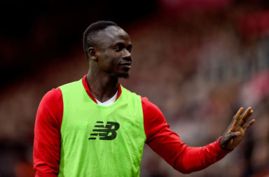 Sadio Mane starts in our predicted Liverpool lineup to face RB Salzburg.