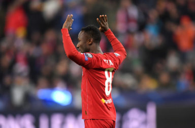 Naby Keita bagged again this evening, earning a high score in our LIverpool player ratings against RB Salzburg.
