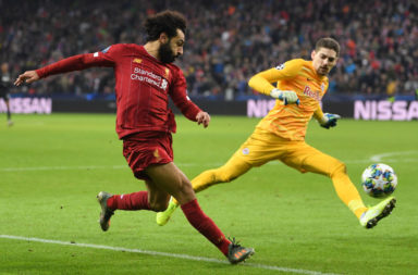 Twitter has been drooling over the Mo Salah goal against RB Salzburg.