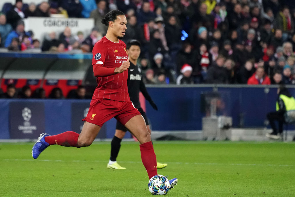 Virgil van Dijk was on song last night as Liverpool kept an impressive clean sheet against RB Salzburg.