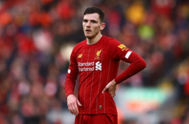 Liverpool are reportedly chasing Mathieu Gonçalves, he would provide cover for Andy Robertson.