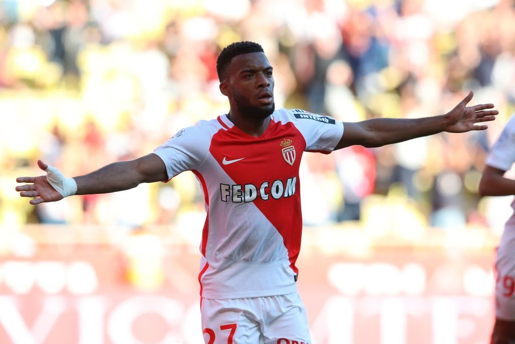 Thomas Lemar whilst at Monaco.