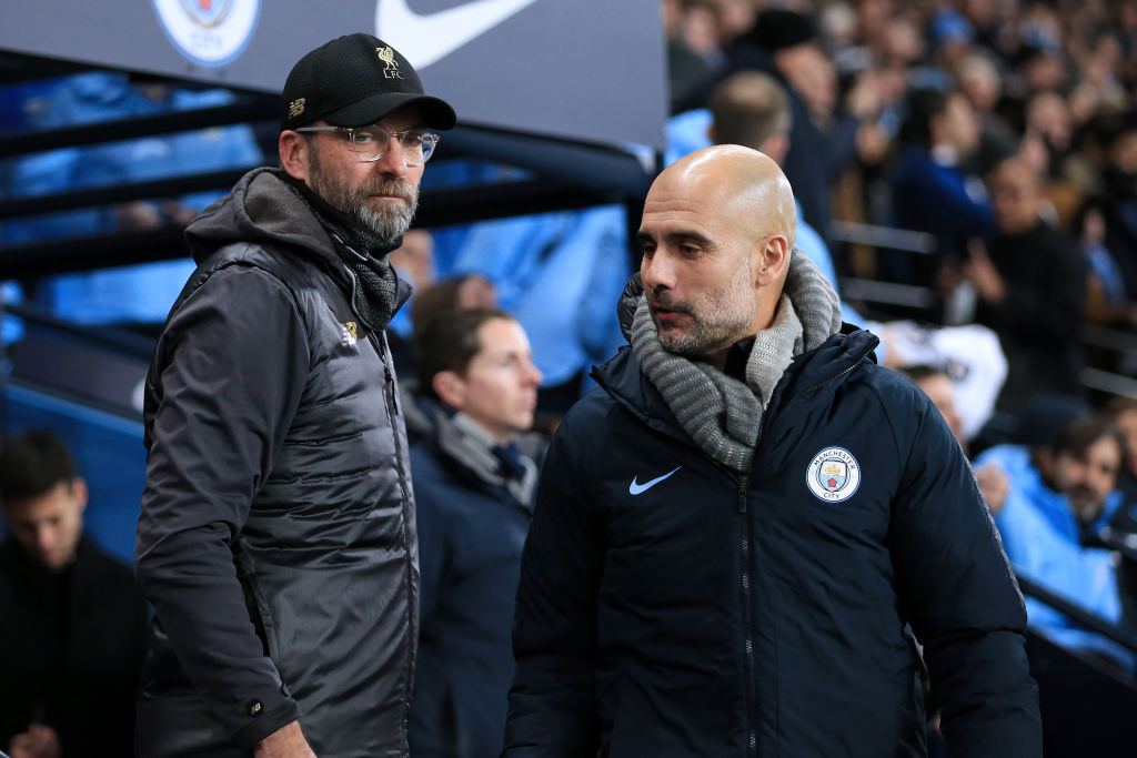 'Liverpool is the competitor': Pep Guardiola plays down Liverpool rivalry despite gulf in the title race
