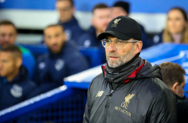 Liverpool could win the league at Goodison Park and get a guard of honour at the Etihad Stadium.