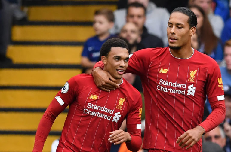 Trent Alexander-Arnold and Virgil van Dijk have the most prolific combination at Liverpool.
