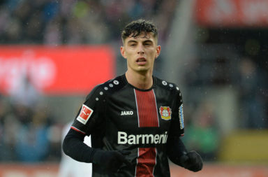 Kai Havertz scored 17 goals for Bayer Leverkusen last season