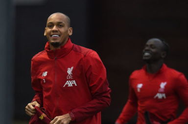 Fabinho may not go straight back into Liverpool's first-team