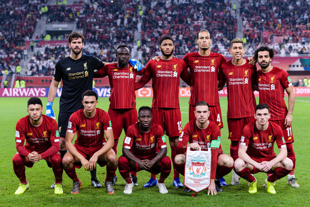 Liverpool's European dominance continues as Jurgen Klopp's squad clean up UEFA's TOTY awards