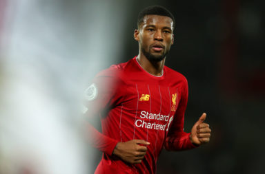 "According to David Ornstein, Liverpool are willing to listen to ""enormous"" offers for Gini Wijnaldum."