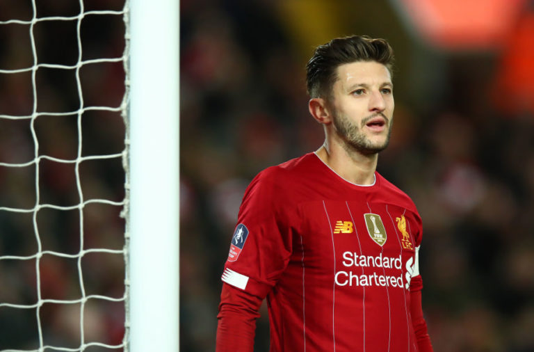 Adam Lallana needs to take any chance he gets against Shrewsbury.