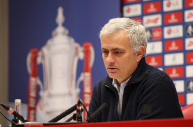 Jose Mourinho has talked up the Anfield atmosphere ahead of Saturday's game.