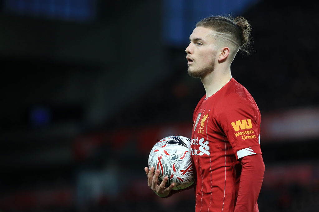Twitter has been drooling over footage of a Harvey Elliott goal in England training.