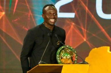 Sadio Mane has been crowned African Player of the Year.