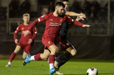 Neil Critchley has given his verdict on Joe Hardy after his debut for Liverpool.