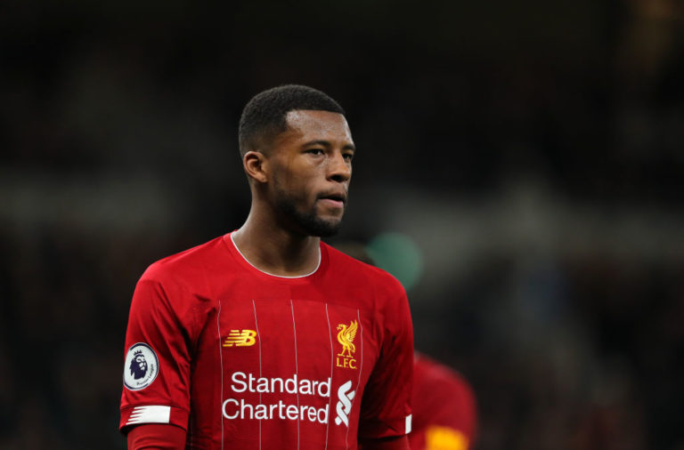 Gini Wijnaldum has refused to rule out a Liverpool exit.