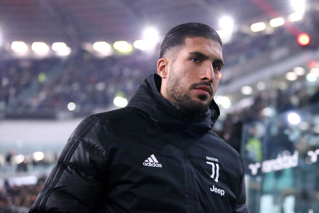 According to The Mirror, Everton are lining up a move for Emre Can.