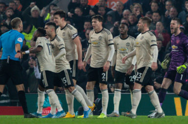 Manchester United have been charged by the FA for failing to control the players against Liverpool.