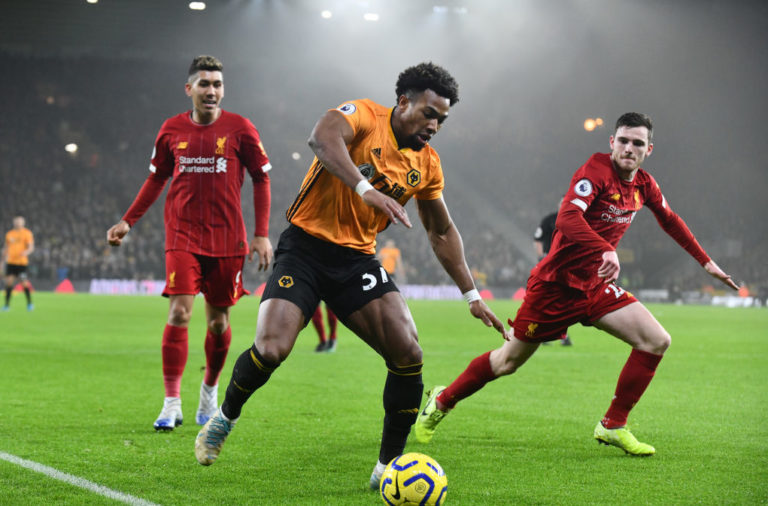 Adama Traore shone against Liverpool.