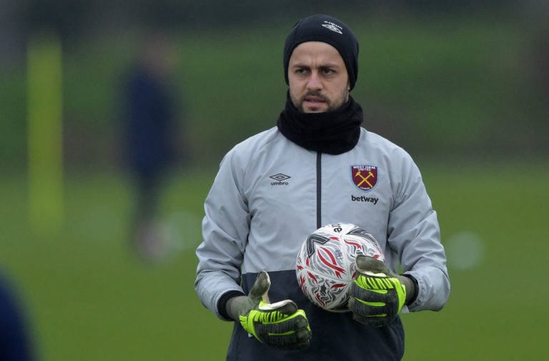 Some West Ham fans are fuming that Lukasz Fabianski might play against Liverpool.