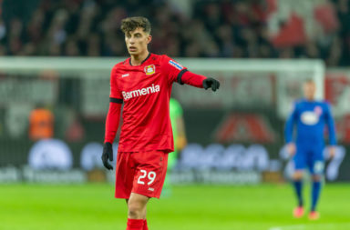 According to reports in Germany, Bayer Leverkusen want €130m for reported Liverpool target Kai Havertz.