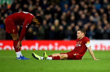 The James Milner injury could thrust Curtis Jones into the Liverpool side.