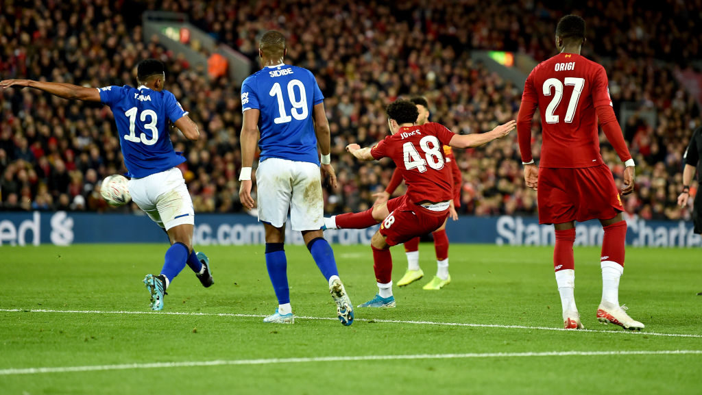 Liverpool beat Everton in the FA Cup thanks to a Curtis Jones goal.