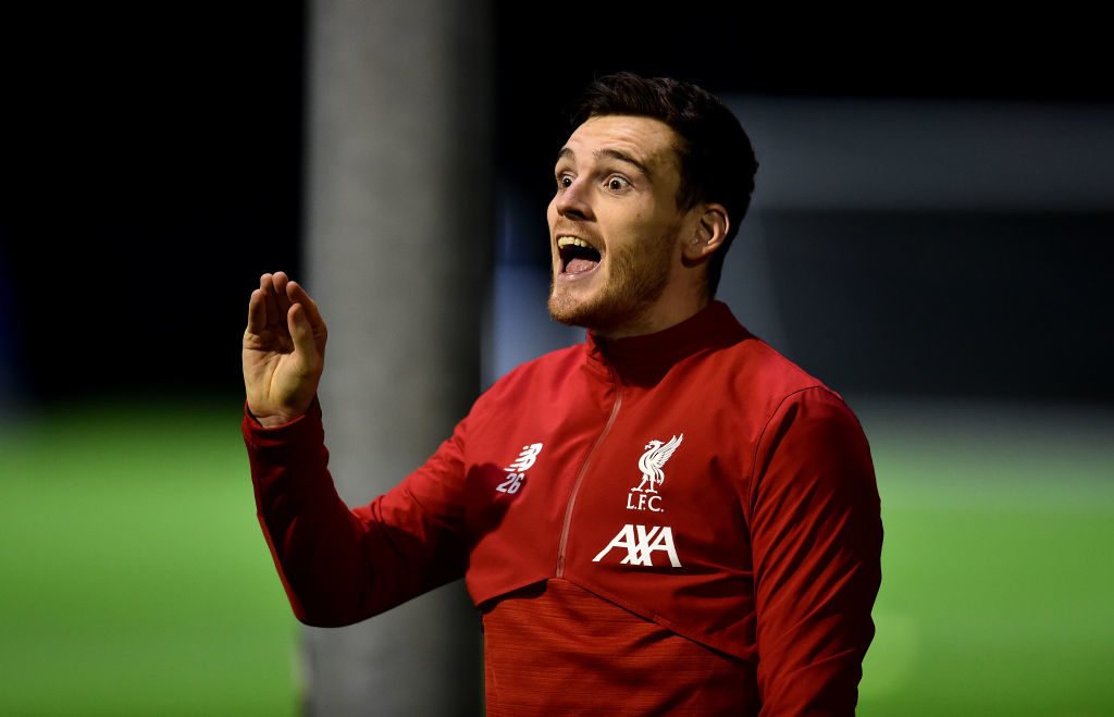 Andy Robertson is a vital part of the Liverpool team