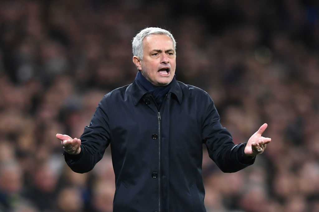 Jose Mourinho set his side up to stop Andy Robertson