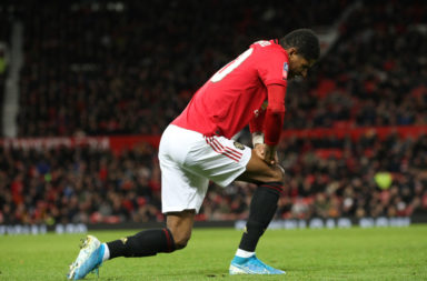 Liverpool have been given a massive boost as Marcus Rashford hasn't travelled with the squad.