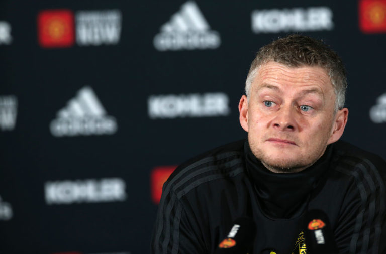 Ole Gunnar Solskjaer feels his side can take 'loads of belief' from previous results.