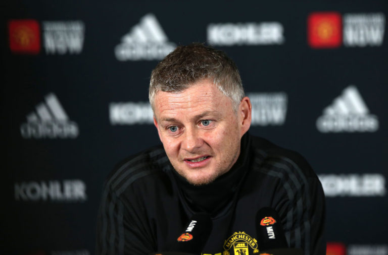 Ole Gunnar Solskjaer spoke on Jurgen Klopp before Sunday's game.