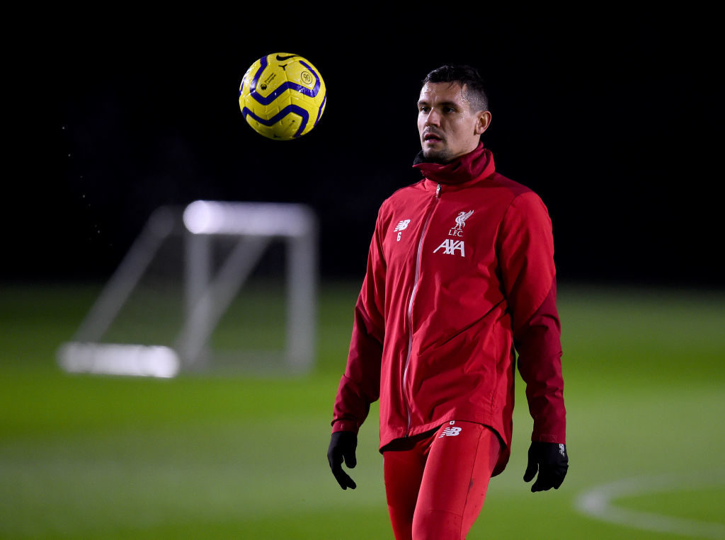 Dejan Lovren will reportedly return to the Liverpool side.