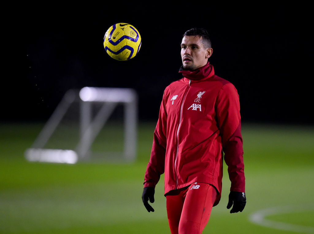 Liverpool handed major injury boost following Dejan Lovren's return to training - Rousing The Kop - Liverpool FC News