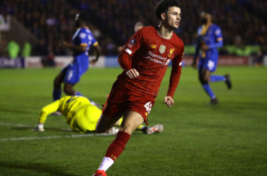 Curtis Jones scores well in our Liverpool player ratings v Shrewsbury Town.