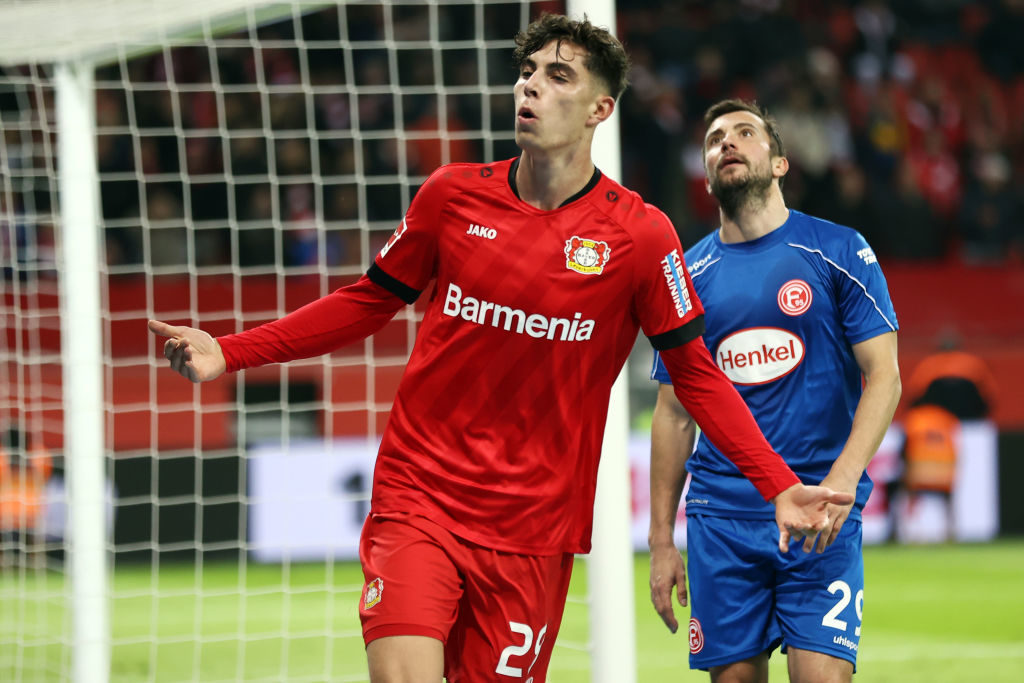 Kia Havertz is in high demand.