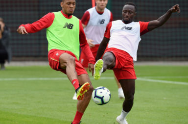 Liverpool could soon lineup with Fabinho and Naby Keita together.