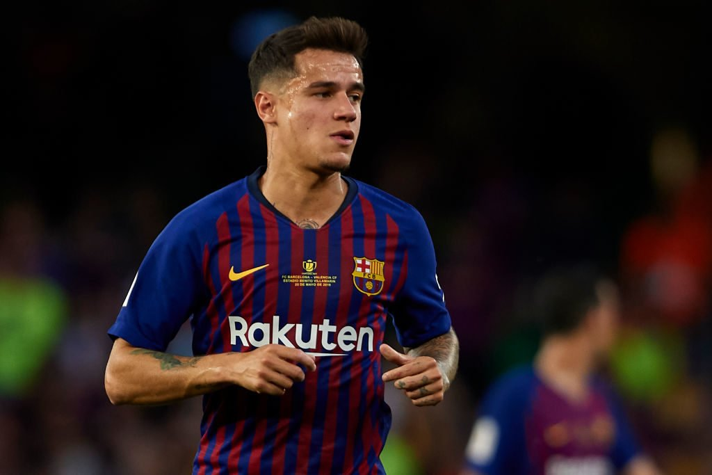 Philippe Coutinho left to join Barcelona.