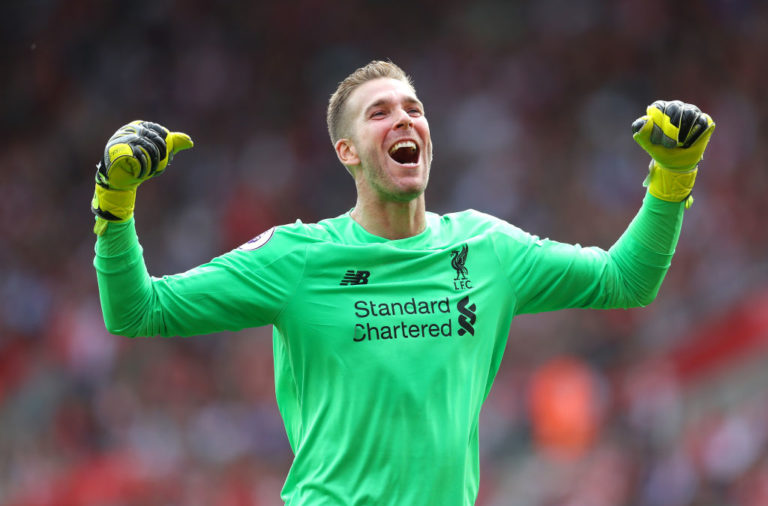 Adrian has said that he could retire at Liverpool.