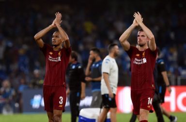 Fabinho and Jordan Henderson are the holding midfield options to face Atletico Madrid.