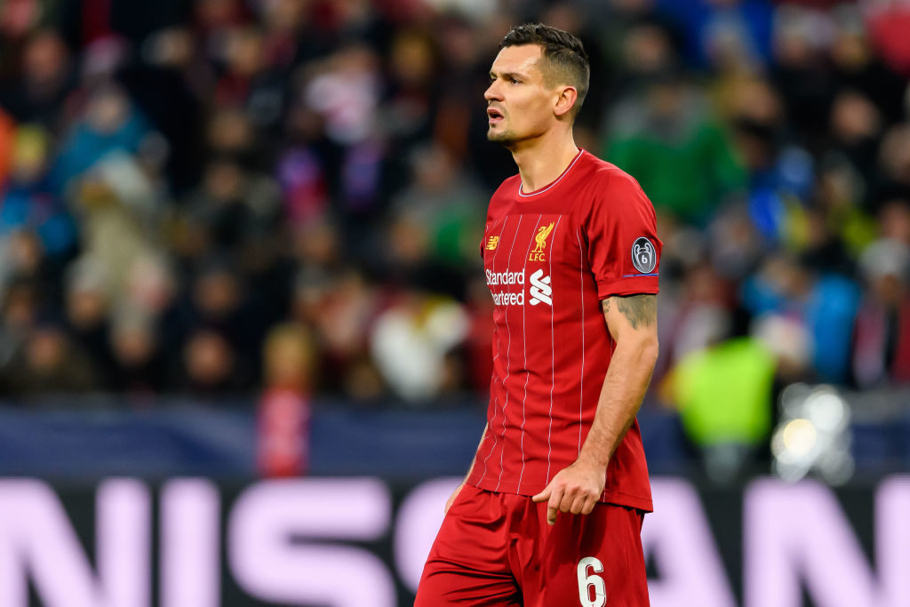 Dejan Lovren could leave Liverpool.