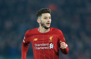 Four teams reportedly hold an interest in Liverpool's Adam Lallana.
