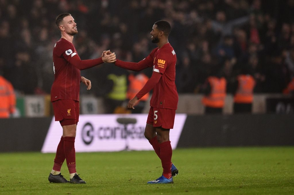 Jordan Henderson and Gini Wijnaldum are an incredibly effective duo.