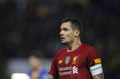 Liverpool will need a replacement for Dejan Lovren before long.