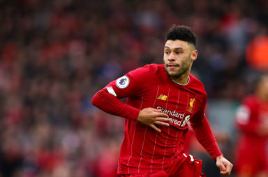 Alex Oxlade-Chamberlain has two positions he can fight for.