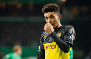 According to a report, Liverpool could be set to miss out on Jadon Sancho to Manchester United.