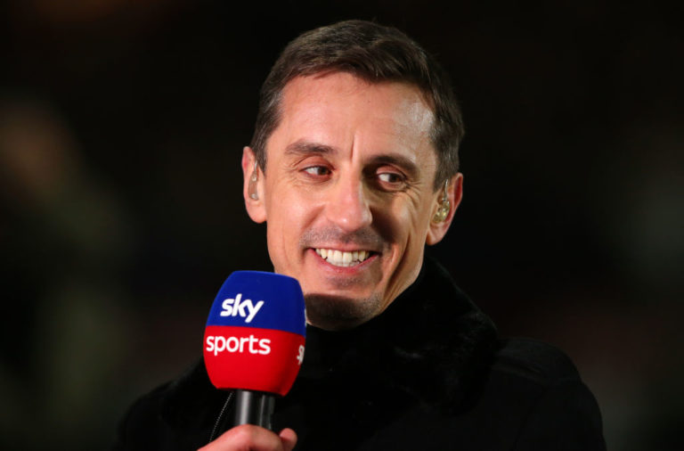 "Gary Neville has said that Manchester City ""look well behind"" Liverpool."