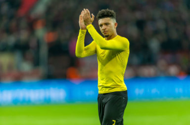 Liverpool could plausibly move for Jadon Sancho next summer.