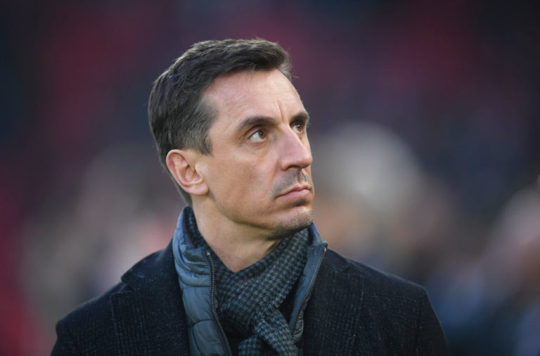 Gary Neville has summed up Liverpool perfectly with one word.